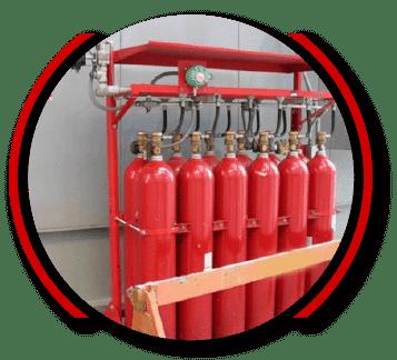 Co2 Gazlı Yangın Söndürme Sistemleri