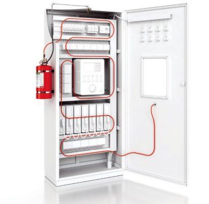 Pano içi yangın söndürme sistemi