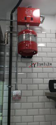 İşbilir Yangın Algılama ve Yangın Söndürme Sistemleri - Mutfak Davlumbaz Söndürme Sistemleri