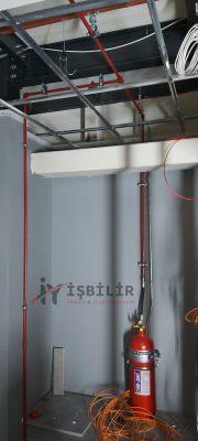 İşbilir Yangın Algılama ve Yangın Söndürme Sistemleri. Fm200 - Novec Gazlı Söndürme Sistemi